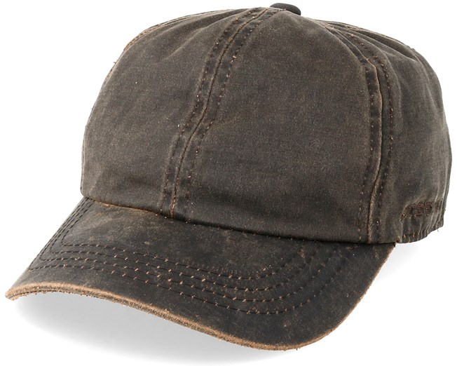 4778fe7e6 Baseball Cap Co/Pe Ef Brown Flexfit - Stetson caps | Hatstore.co.uk