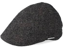 Texas Wool Brown/Black Flat Cap - Stetson