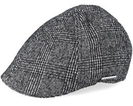 Texas Wool Beige/Black Flat Cap - Stetson