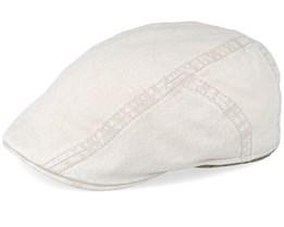 bc935f1e Ivy Cap Delave Organic Cotton Beige Flat Cap - Stetson