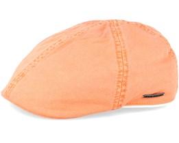 Texas Dyed Cotton Orange Flat Cap - Stetson