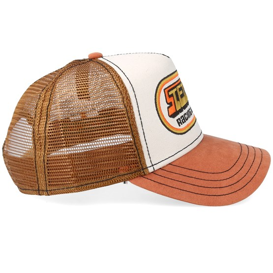 a0da005e0 Racing Team 76 Beige/Brown Trucker - Stetson