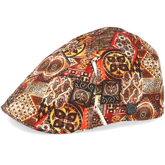 Texas Ethno Print Flat Cap - Stetson caps  bd54664562c