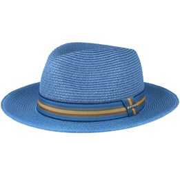 9bb16af3 Ava Co/Pe Brown Fedora - Stetson hats | Hatstore.co.uk