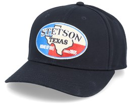 Baseball Texas Black Adjustable - Stetson