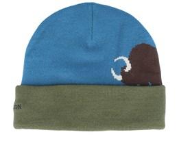 Buffalo Blue/Green Cuff - Stetson