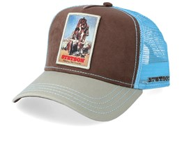 Last Drop Brown/Blue/Grey Trucker - Stetson