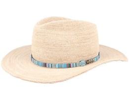 Western Raffia Crochet Straw Hat - Stetson