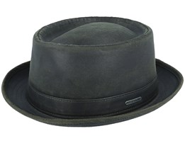 Co/Pes Fishgrat Black Pork Pie - Stetson