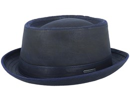 CO/PES Navy Pork Pie - Stetson
