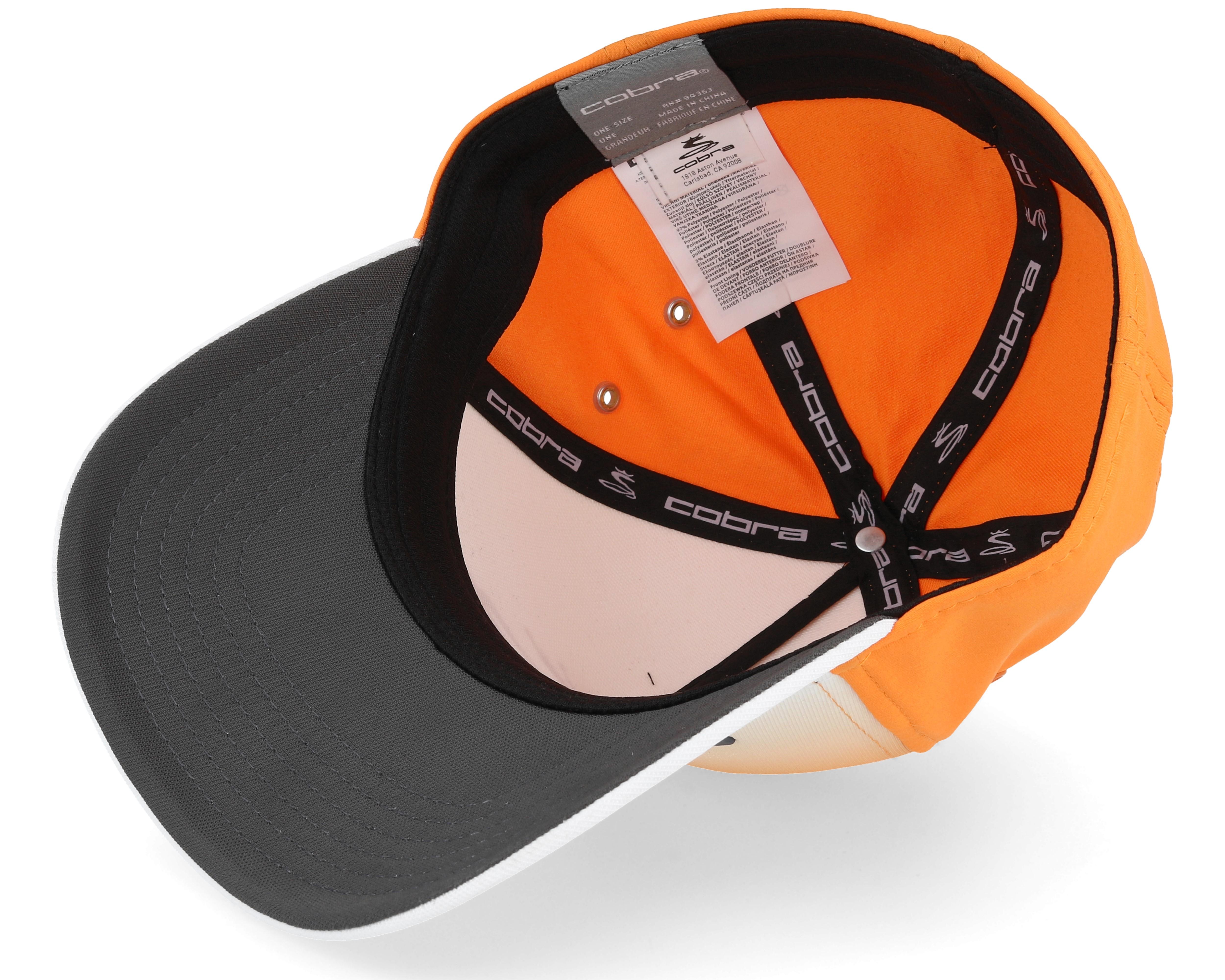youth tour fade orange white multi flexfit cobra start. Black Bedroom Furniture Sets. Home Design Ideas