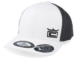 Crown White/Black/Charcoal Trucker - Cobra