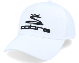 Ball Marker Bright White/Black Adjustable - Cobra
