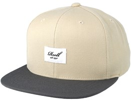 Pitchout 6-Panel Wheat/Greyblack Snapback - Reell
