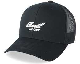 Curved Black Trucker - Reell
