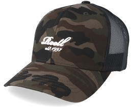 Curved Camouflage Trucker - Reell