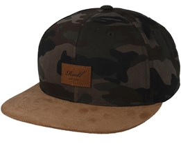 Suede Camo/Brown Snapback - Reell