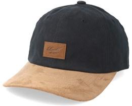 Curved Suede Black/Brown Adjustable - Reell