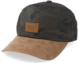 Curved Suede Camouflage/Brown Adjustable - Reell