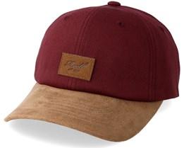 Curved Suede Maroon/Brown Adjustable - Reell