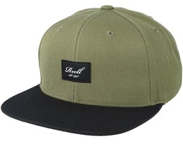 Pitchout Olive/Black Snapback - Reell
