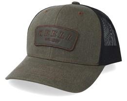Curved Green/Black Trucker - Reell