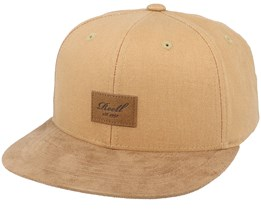 Suede Cap 151 Ocre Brown Snapback - Reell