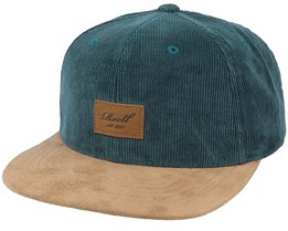 Suede Cap 161 Dark Green Snapback - Reell