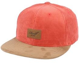 Suede Cap 180 Orange Snapback - Reell