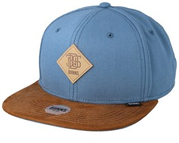 Light Canvas Skate/Brown Snapback - Djinns