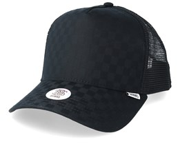 Tie Check Black Trucker - Djinns