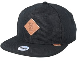 6-Panel Suelin Black Snapback - Djinns
