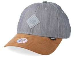 6p Sb Rough Drapery Grey/Suede Adjustable - Djinns