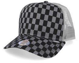 Louiecheck Grey/Black Trucker - Djinns