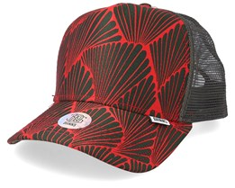 Cap Wlu Shed Red/Olive Trucker - Djinns