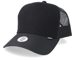Hft Felt Coat Black Trucker - Djinns