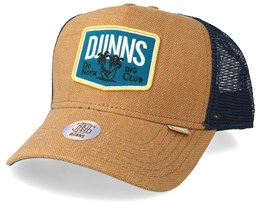 Hft Dnc Rough Canvas Mustard Trucker - Djinns