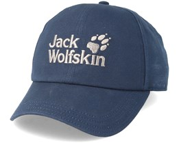 Baseball Cap Night Blue Adjustable - Jack Wolfskin