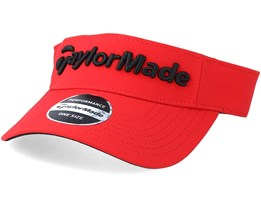 Performance Radar Red Visor - Taylor Made