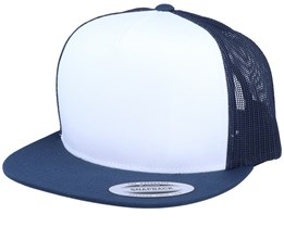 White/Navy Trucker - Yupoong