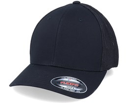 Black Mesh Trucker Flexfit - Flexfit