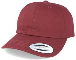 Maroon Red Adjustable - Yupoong