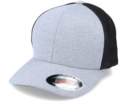 Melange Trucker Cap Heather/Black Flexfit - Flexfit