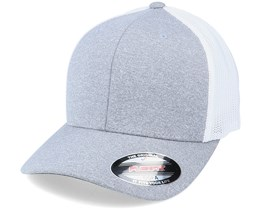 Melange Trucker Cap Heather/White Flexfit - Flexfit