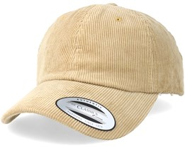 Dad Cap Manchester Khaki Adjustable - Yupoong