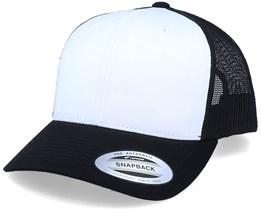 Retro Black/White/Black Trucker - Yupoong