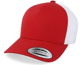 Red/White Trucker - Yupoong