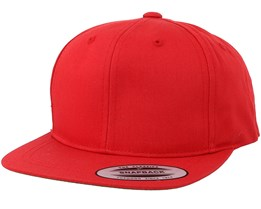 Kids Red Snapback - Yupoong