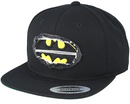 Batman Logo Black Snapback - Mister Tee
