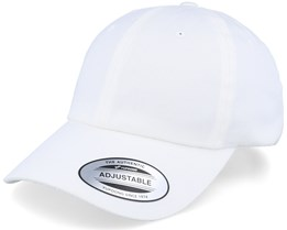 Organic Dad Cap White Adjustable - Yupoong